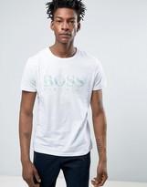 BOSS ORANGE by Hugo Boss Logo T-Shirt Regular Fit in White