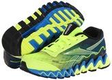 Reebok Kids Zigultra (Neon Yellow/Risk Blue/Black) Boys Shoes