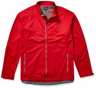 Cutter & Buck Men's Big and Tall Big & Tall Midweight Softshell Opening Day Jacket
