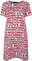 Love Moschino all-over logo dress - women - Cotton/Spandex/Elastane - 42