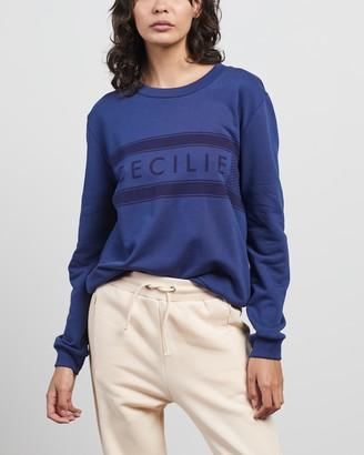Cecilie Copenhagen Women's Blue Sweats - Manila Sweat - Size XS at The Iconic