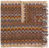 Missoni paisley border print scarf