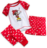 Disney Minnie Mouse Three-Piece Pajama Set for Baby - Disneyland