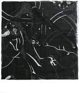 Valentino Men's Black Modal Scarf.