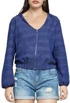 BCBGeneration Zip-Front Hooded Jacket