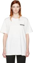 Yang Li Off-white Brand Logo T-shirt