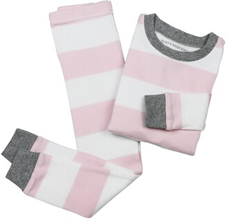 Burt's Bees Rugby Stripe Snug Fit Organic Baby Pajamas