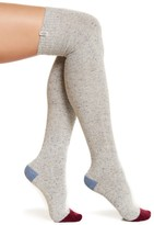UGG Wool Blend Colorblock Over-the-Knee Socks