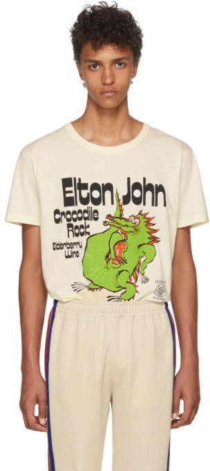 Gucci Off-White Elton John Crocodile Rock T-Shirt