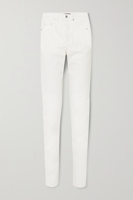Kwaidan Editions High-rise Straight-leg Jeans - White