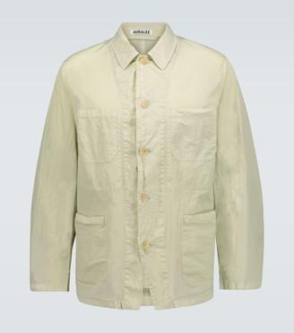 AURALEE Hard dye technical jacket