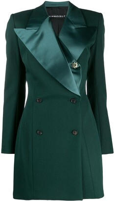 Y/Project longline double breasted blazer