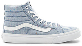 Vans SKi-Hi Slim Sneaker in Blue