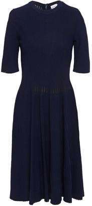 Herve Leger Ribbed-knit Dress