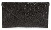 Tory Burch Glitter Envelope Clutch - Black