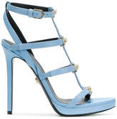 Versace strappy Medusa head sandals