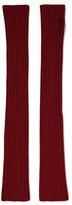 M Missoni Ribbed wool fingerless gloves