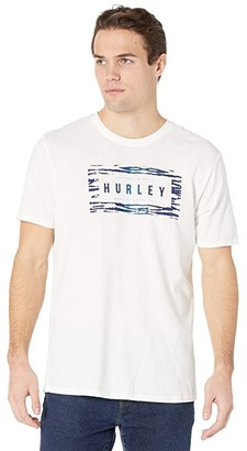 Hurley Boxed Jungle Short Sleeve Dri-Fit Tee (Black) Men's Clothing