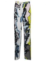 Versace Jagged Baroque Trousers