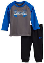 Under Armour Baby Boys Logo Two-Piece Tee and Jogger Pants Set