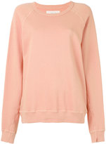 The Great ribbed trim sweatshirt - women - Cotton - S