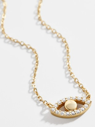 BaubleBar Ojo 18K Gold Vermeil Necklace