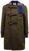 Sacai military style duffle jacket