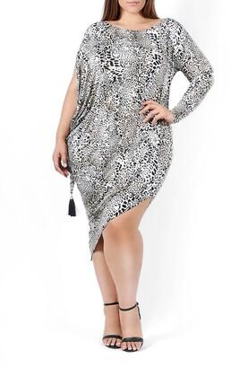 Coldesina Jenny Print Long Sleeve Dress