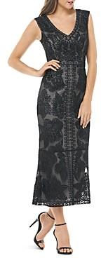 JS Collections Beaded Soutache Dress
