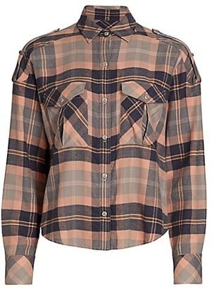 Rag & Bone Cruz Classic-Fit Plaid Shirt