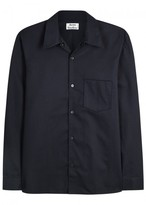 Acne Studios Navy Twill Overshirt