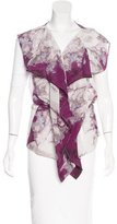 VPL Silk Printed Vest