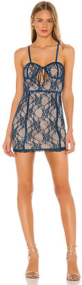 superdown Darcy Keyhole Mini Dress