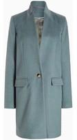 Anastasia Beverly Hills Womens Single Button Smart Coat blue