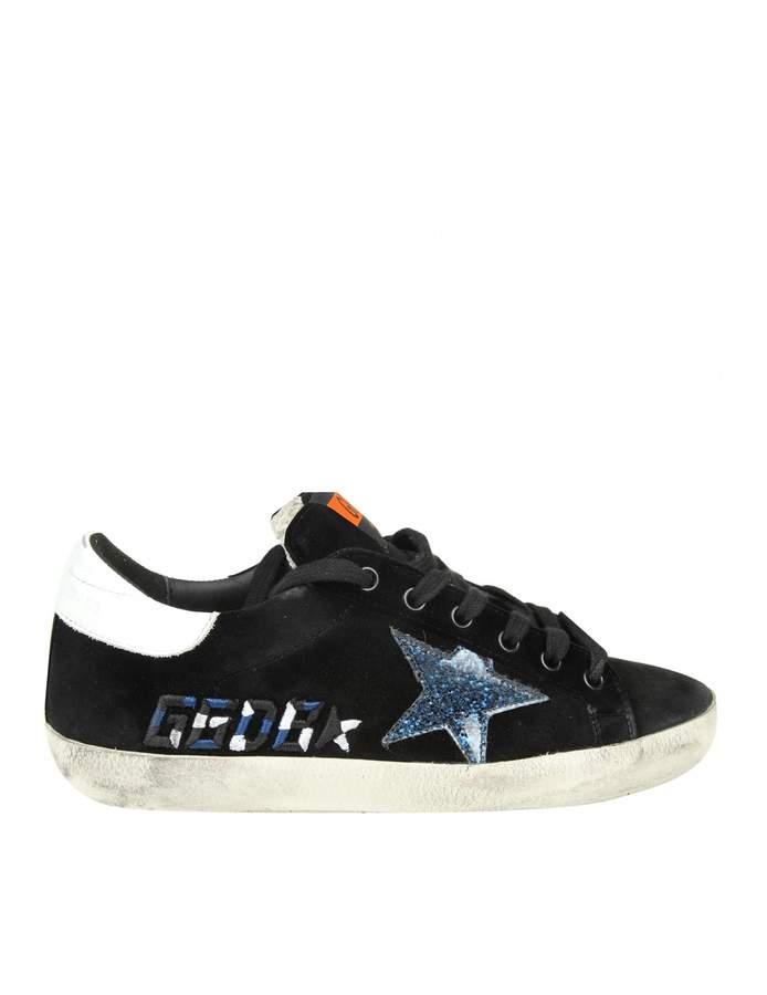 Golden Goose Sneakers superstar In Velvet Color Black