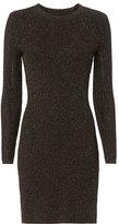 Derek Lam 10 Crosby Lurex Rib Knit Dress