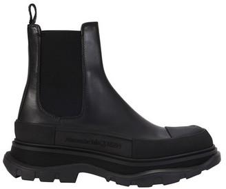 Alexander McQueen Logo boots