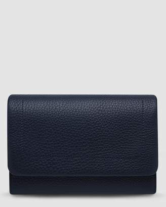 Status Anxiety Remnant Bifold Wallet - Navy Blue