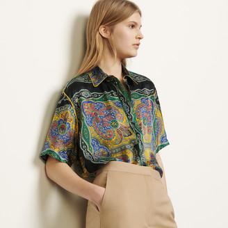 Sandro Short-sleeved printed shirt