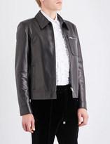 Bally Blouson leather jacket