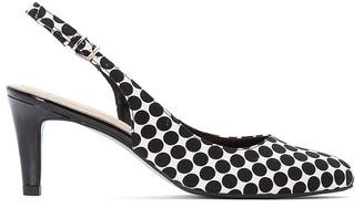 La Redoute Collections Polka Dot Slingback Heels