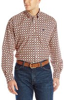 Cinch Men's Classic Fit Long-Sleeve Button One Open Pocket Print