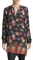 Tolani Alaya Floral-Print Tunic Dress, Plus Size