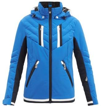 Toni Sailer Henni Hooded Padded Ski Jacket - Blue Multi