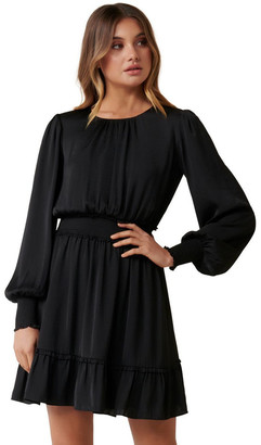 Forever New Jessica Long Sleeve Smock Dress