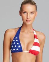 Polo Ralph Lauren Americana Package Slide Halter Bikini Top
