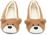 Forever 21 FOREVER 21+ Bear House Slippers