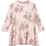 River Island Mini girls pink floral swing dress