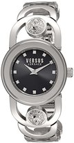 Versus By Versace Women's 'Carnaby Street' Quartz Stainless Steel Casual Watch, Color:Silver-Toned (Model: SCG080016)