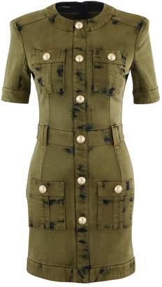 Balmain Short denim dress